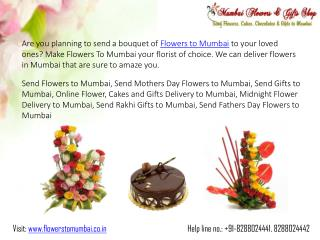 Send Birthday Flowers to Mumbai