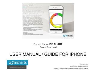 How to Use ZoomCharts Pie Chart - Donut, One Level - iPhone