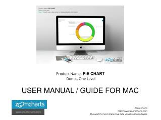 How to Use ZoomCharts Pie Chart - Donut, One Level for Mac