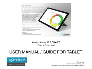 How to Use ZoomCharts Pie Chart - Donut, One Level - Tablet