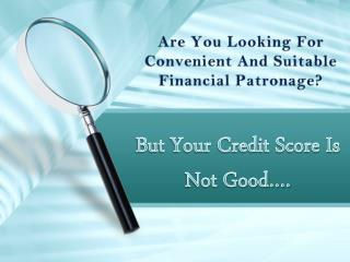 Bad Credit Personal Loans To Fulfill Unforeseen Cash Worries