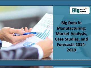 Key Characteristics  Of Big Data  Manufacturing Market 2019