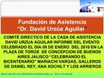 Fundaci n de Asistencia  Dr. David Urz a Aguilar
