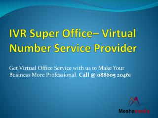 Mesha Media – Virtual Number Service Provider in Delhi NCR