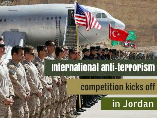 International anti-terrorism competition kicks off in Jordan