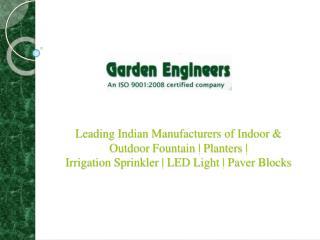 Garden Fountains Manufacturers | Outdoor Garden Fountain