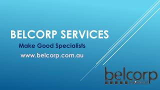 Belcorp Services - Make Good Specialists
