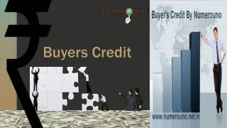 Buyer's Credit