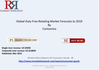 Global Duty Free Retailing Market Overview 2015