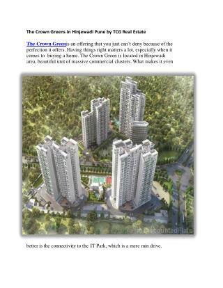 Buy Red coupon & Get Discount up to 5 lakh onThe Crown Green