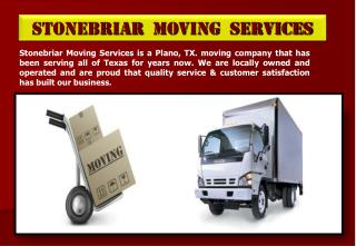 Full Service Moving Plano TX - PowerPoint PPT Presentation