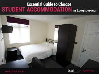 Guide to Choose Student Houses Loughborough