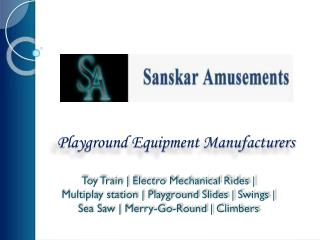 Playground Slides Manufacturers | Kids Playground Slide
