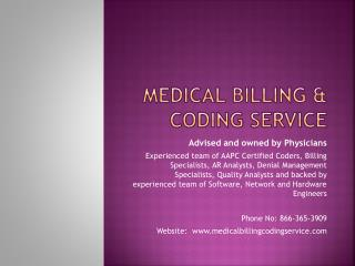 Medical Coding and Billing | Revenue Cycle Management in USA
