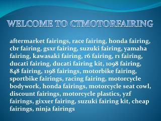 Honda fairing