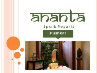 Ananta Spa & Resort Pushkar Mudra The Spa