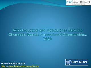 India Industrial and Institutional Cleaning Chemicals Market