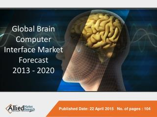 Global Brain Computer Interface Market Forecast 2013 - 202