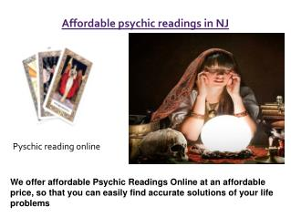 Psychic Readings in  NJ
