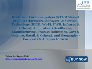 JSB Market Research: Real-Time Location System (RTLS) Market