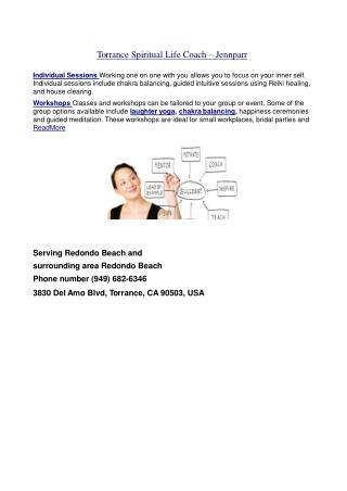 Redondo Beach Spiritual Life Coach - Torrance Reiki Master