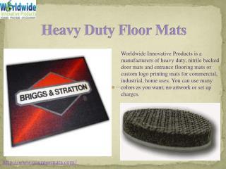#Heavy Duty Floor Mats