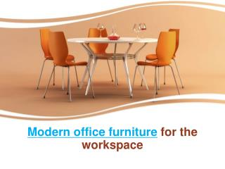 Modular Office Furniture for Workspace