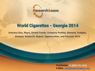 World Cigarettes - Georgia 2014