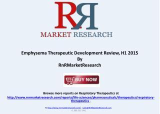 Emphysema Therapeutic Development Review, H1 2015