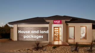House And Land Packages | Orbit Homes