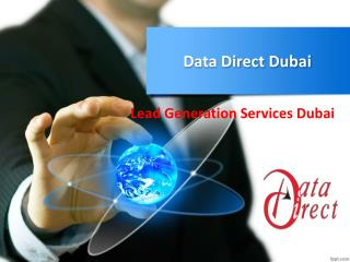 Data Direct Dubai - Lead Generation Services