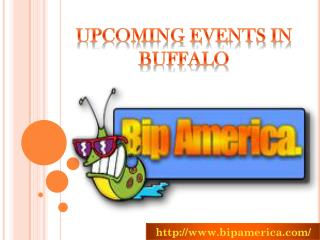Upcoming Events In Buffalo