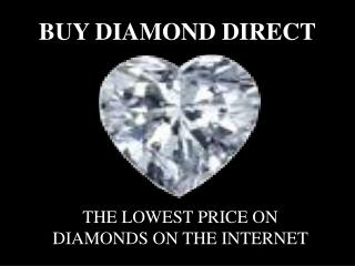 Buy Loose Diamonds, Jewelry & Watches Online - Buy Diamond D