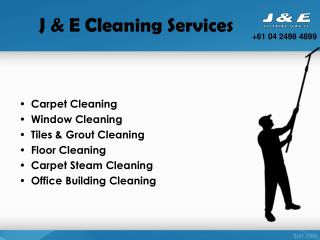 Carpet Cleaning Services at Perth