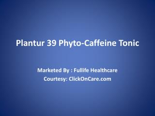 Buy Plantur 39 Online in India