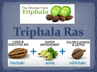 Search Triphala Ras