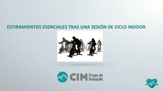 CIM Formación: Estiramientos tras una sesión de ciclo indoor