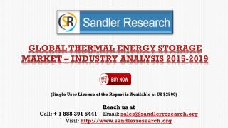 Global Thermal Energy Market to Grow at 18% CAGR by 2019