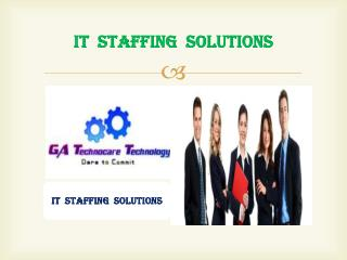 24/7 Instant Online IT Staffing Solution Provider Company