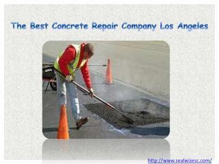 The Best Concrete Repair Company Los Angeles