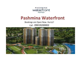 Buy 3BHK Flats In Pashmina WaterFront , Old Madras Road,Bang