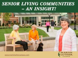 Martin Luther Care Center in Bloomington–Perfect Assisted Li