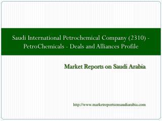 Saudi International Petrochemical Company (2310)