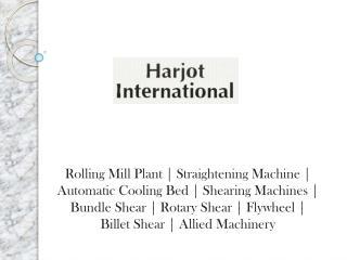 Straightening Machine Manufacturers  Suppliers India
