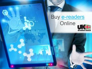 Buy e-reader from online shopping store UK Graded Stock