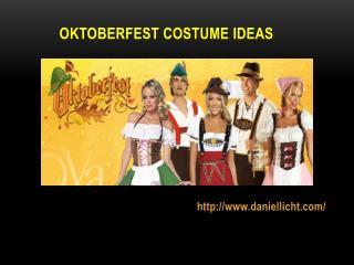 Oktoberfest Costume Ideas