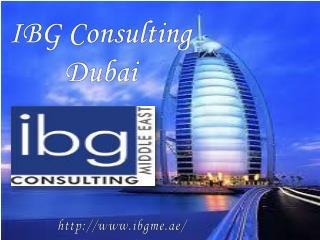 IBG Consulting Dubai