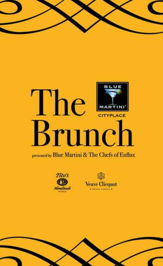 The Brunch Presented by Blue Martini & the Chefs of Enflux