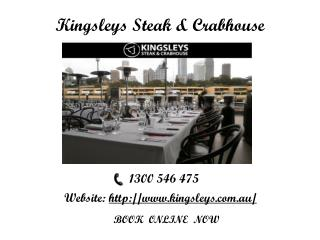 Fresh Meat and Delicious Seafood with kingsleys