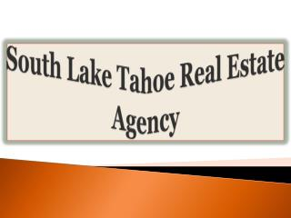 South Lake Tahoe Real Estate Agency